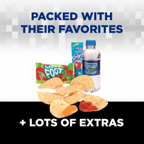 Lunchables Uploaded Nachos Grande Cheese Dip & Salsa Lunch Combination Perspective: back