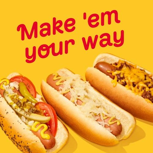 Oscar Mayer Uncured Velveeta Cheese Dogs Perspective: back