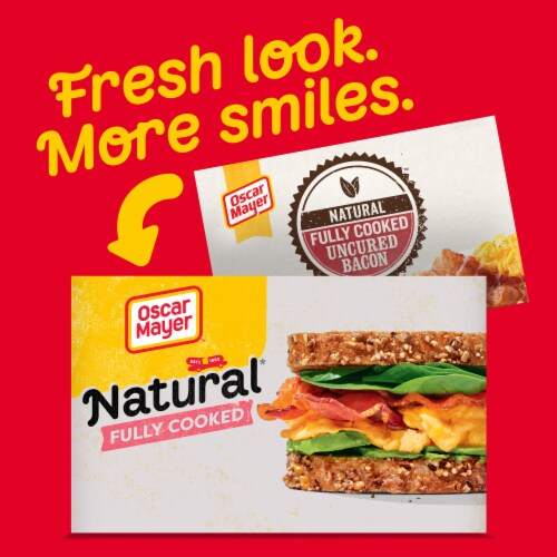 Oscar Mayer™ Natural Fully Cooked Bacon Perspective: back