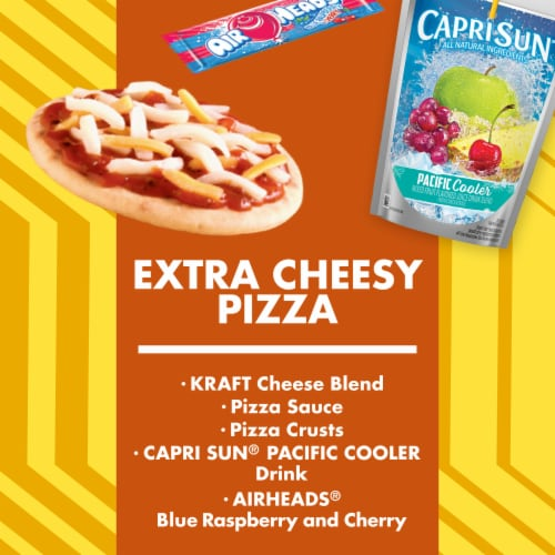 Lunchables Extra Cheesy Pizza Perspective: back
