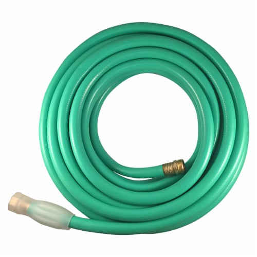 Flexon 5/8 x 100ft Heavy Duty Garden Hose Perspective: back