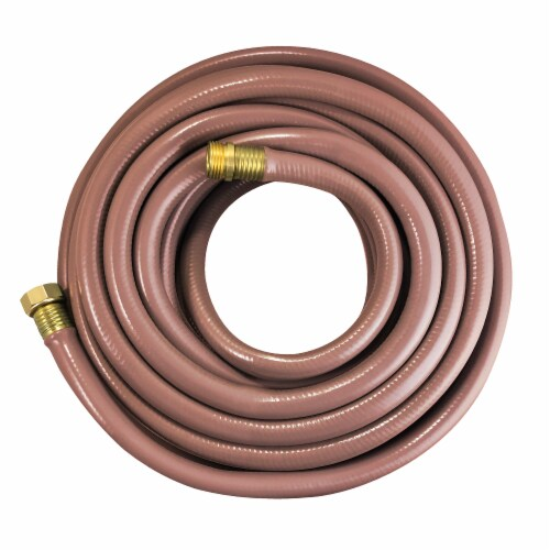 Flexon 3/4 x 75ft Contractor's Grade Garden Hose Perspective: back