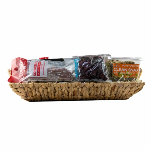 Melissa's Classic Treat Basket (Approximate Delivery is 3-5 Days) Perspective: back