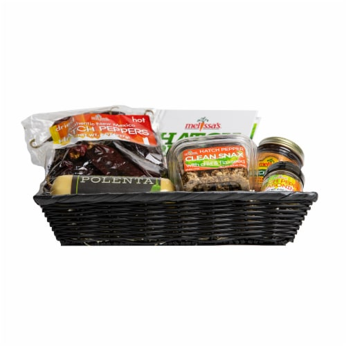 Melissa's Hatch Pepper Gift Basket (Approximate Delivery Time 3-5 Days) Perspective: back