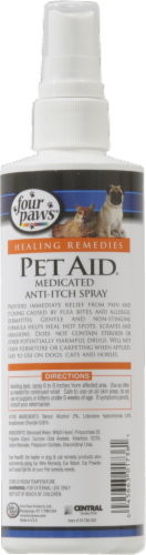 Four Paws Pet Aid Anti-Itch Spray Perspective: back