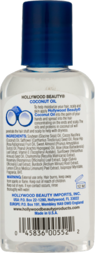 Hollywood Beauty Coconut Oil Moisturizer Perspective: back