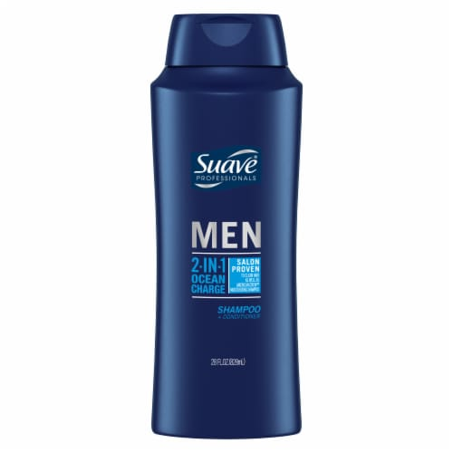 Suave Men 2-in-1 Ocean Charge Shampoo + Conditioner Perspective: back