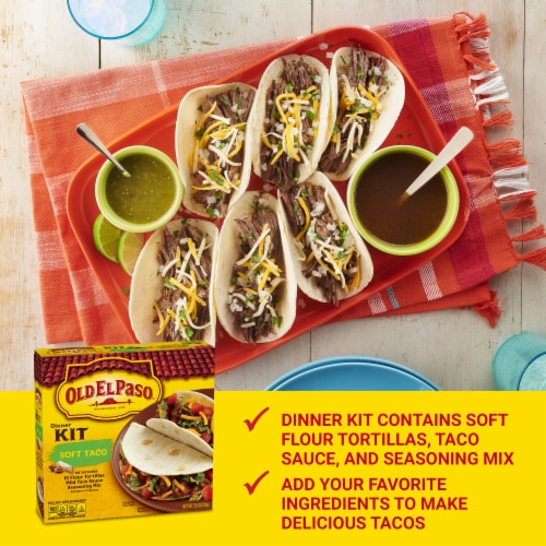 Pick N Save Old El Paso Soft Taco Dinner Kit 10 Ct 12 5 Oz