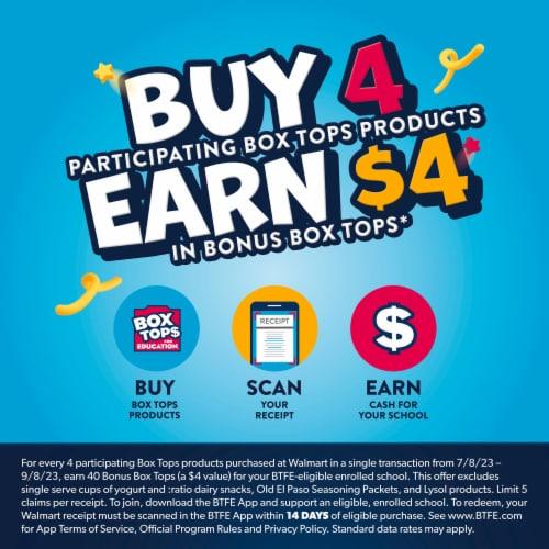 Old El Paso Hard & Soft Taco Dinner Kit Perspective: back