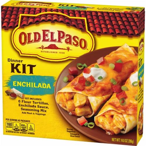 Old El Paso Enchilada Dinner Kit Perspective: back