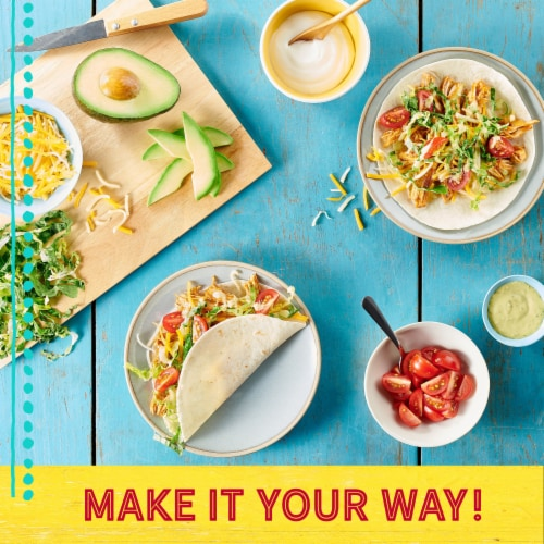 Old El Paso™ Hard & Soft Taco Dinner Kits Family Size Perspective: back