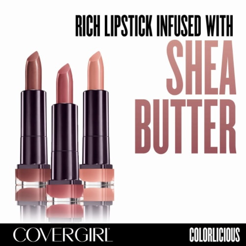 CoverGirl Colorlicious 240 Caramel Kiss Lipstick Perspective: back