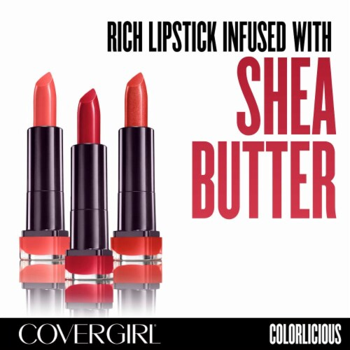 CoverGirl Colorlicious 305 Hot Lipstick Perspective: back