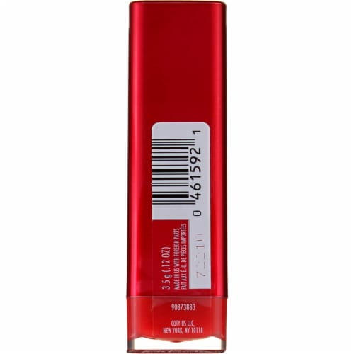 CoverGirl Colorlicious Succulent Cherry Lipstick Perspective: back