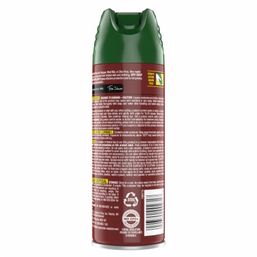 Off!® Deep Woods Tick Insect Repellent Perspective: back