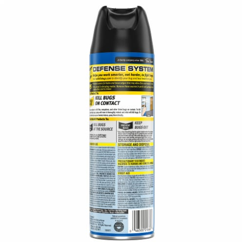 Raid® Outdoor Fresh Scent Flying Insect Insecticide Spray Perspective: back