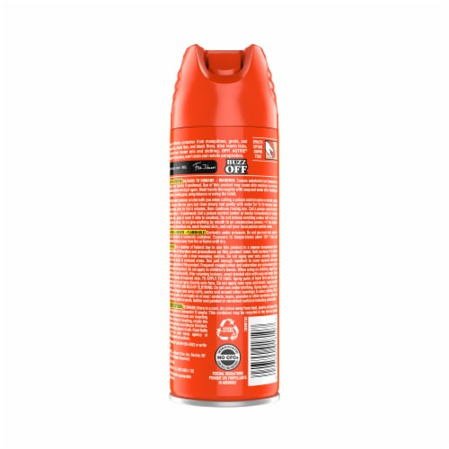 Off!® Active Sweat Resistant Insect Repellent Perspective: back