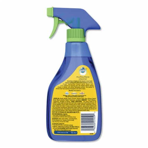 Pledge 16 Oz. Clean Citrus Multi Surface Everyday Cleaner 70312 Perspective: back