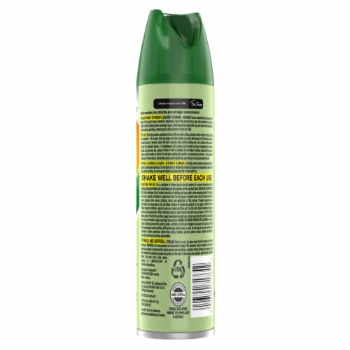 Off!® Deep Woods Dry Insect Repellent Spray Perspective: back