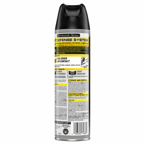 Raid® Max Spider and Scorpion Insecticide Perspective: back