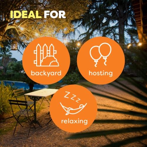OFF! 8 Oz. 1-Wick Mini Citronella Candle (2-Pack) 72010 Perspective: back
