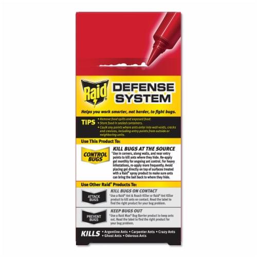 Raid® Precision Placement Bait Ant Gel Perspective: back