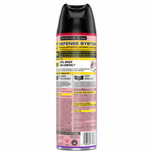 Raid® Lavender Scent Ant and Roach Insecticide Spray Perspective: back