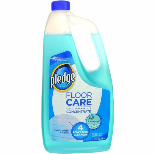 Pledge Clean It Rainshower Multisurface Floor Cleaner Concentrate Perspective: back