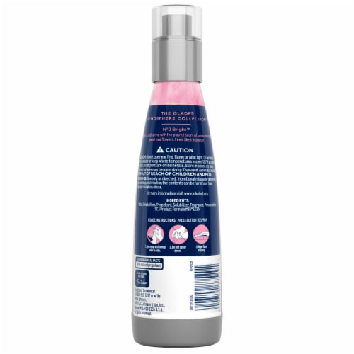 Glade Atmosphere Fine Fragrance Mist No. 2 Bright: Sweet Pea & Pear Perspective: back