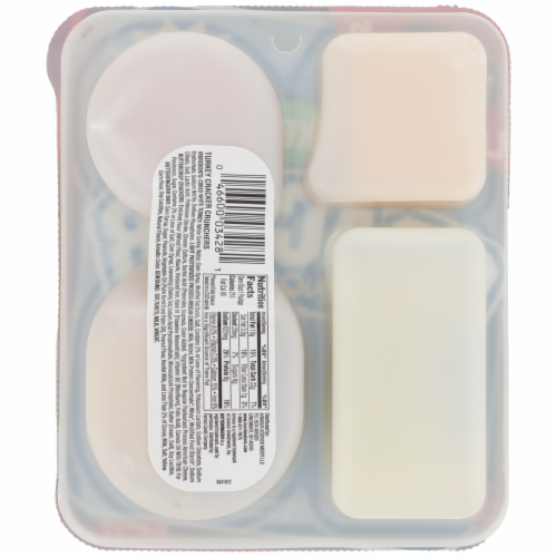 Armour LunchMakers® Turkey Cracker Crunchers Meal Kit Perspective: back