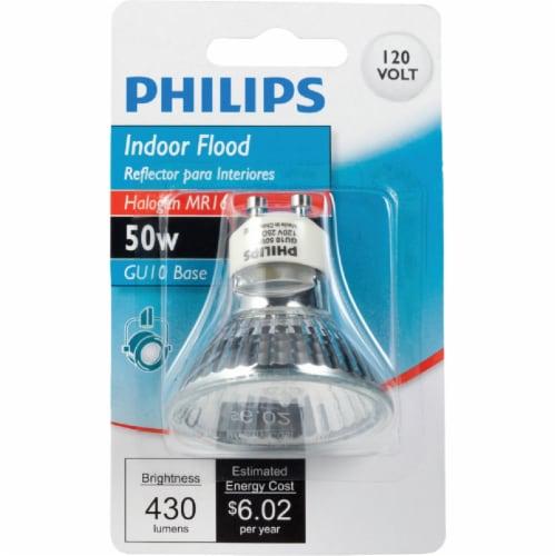 Philips 50-Watt GU10 Base MR16 Indoor Floodlight Bulb Perspective: back