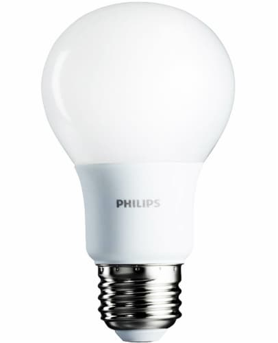 Philips 8.5-Watt (60-Watt) A19 LED Light Bulbs Perspective: back