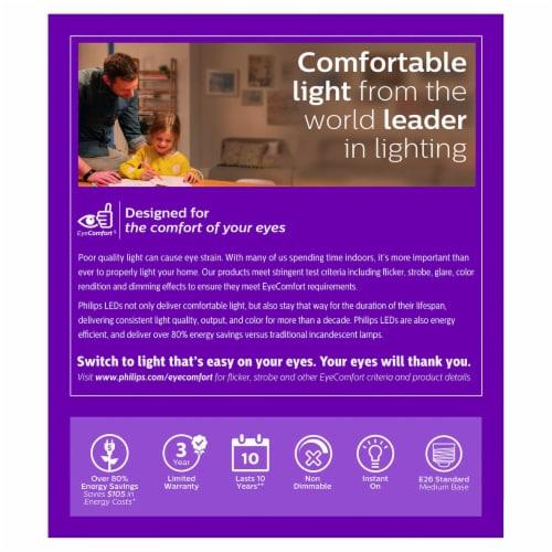 Philips 13.5-Watt (100-Watt) A19 LED Light Blulbs Perspective: back
