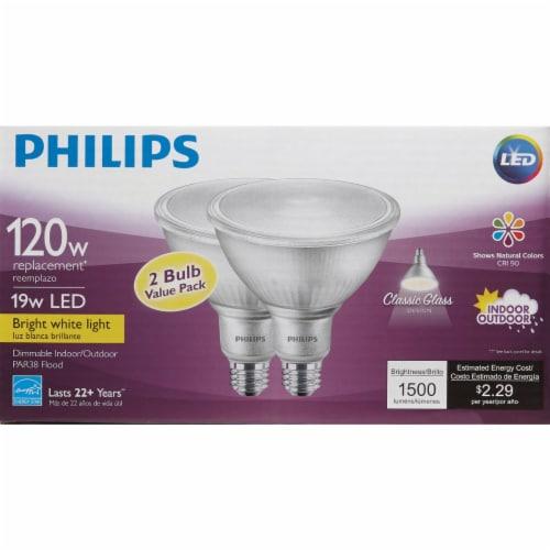 Philips 19wpar38 Bw T20 Led Bulb 532507 Perspective: back