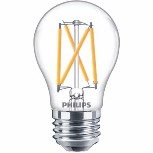 Philips 3.8-Watt (40-Watt) Medium Base Ceiling Fan A15 LED Light Bulbs Perspective: back