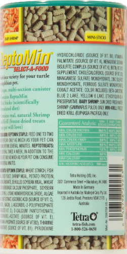Tetra ReptoMin Select-A-Food Reptile Food Perspective: back