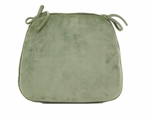 Brentwood Originals Memory Foam Chair Pad - Green Tea Perspective: back