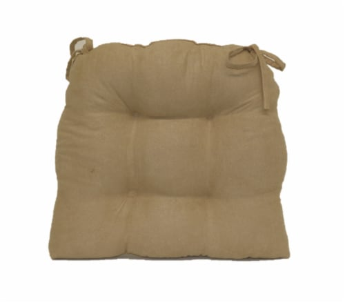 Brentwood Originals Jasper Chair Pad - Oatmeal Perspective: back