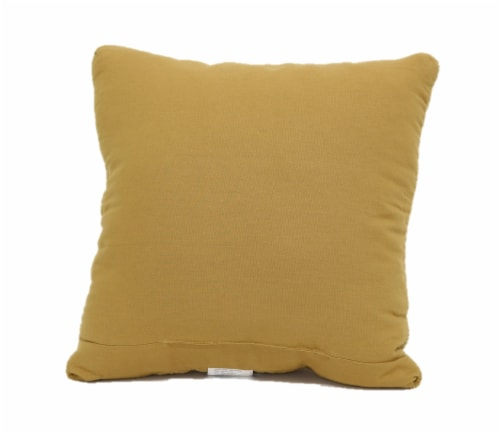 Brentwood Raised Texture Home Decor Pillow Perspective: back