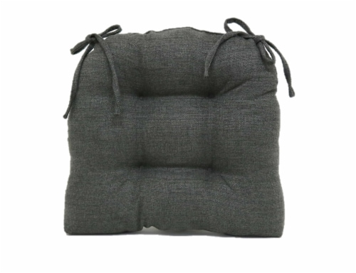 Brentwood Stafford Chair Pad - Gray Perspective: back