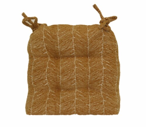 Brentwood Bradshaw Chenille Chair Pad Perspective: back