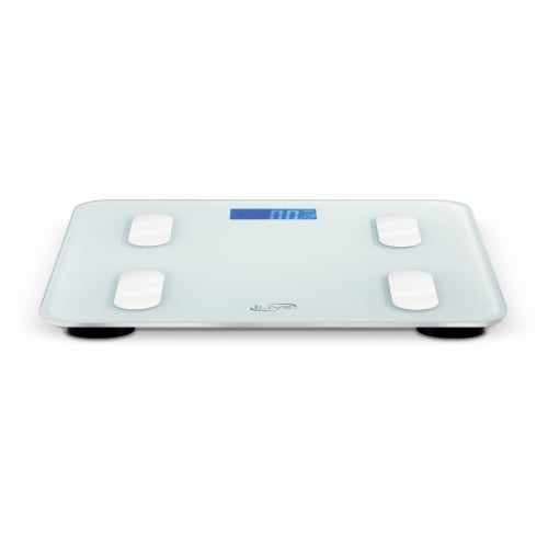 iLive Smart Digital Scale - White Perspective: back