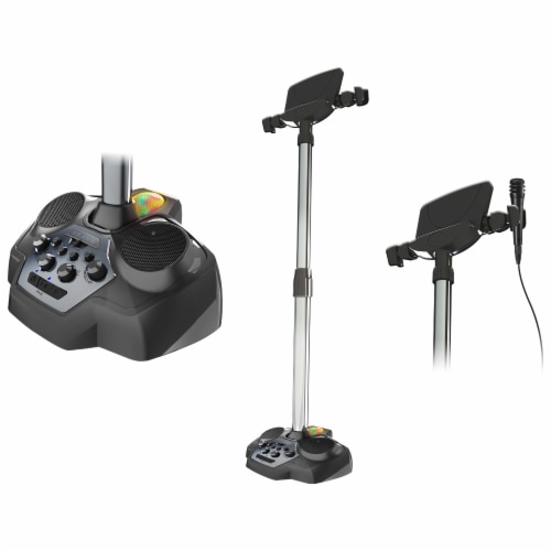 iLive Bluetooth Karaoke Singing Stand Perspective: back