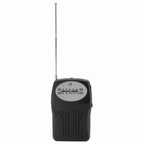 GPX R116B Compact Radio Perspective: back