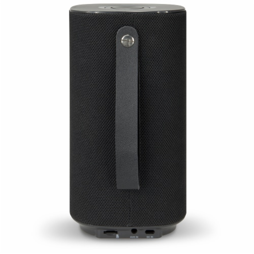 iLive Portable Bluetooth Speaker - Black Perspective: back