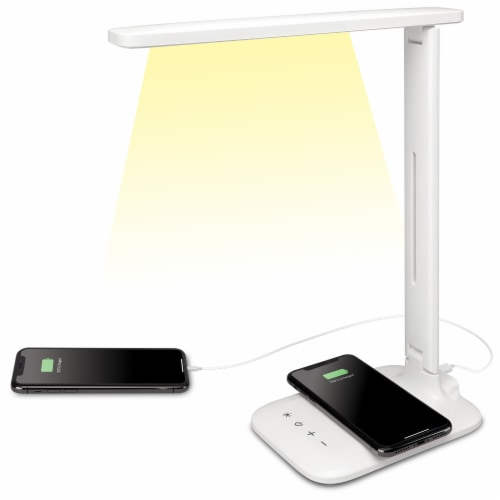 iLive Wireless Charging LED Desk Lamp Perspective: back