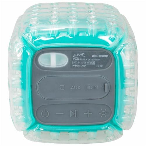 iLive ISBW101TQ Bluetooth Speaker - Aqua Perspective: back
