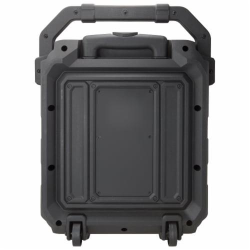 iLive Portable Bluetooth Tailgate Speaker - Black/Silver Perspective: back