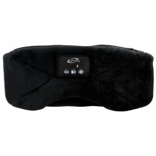 iLive IAHB31B Bluetooth Sleep Mask Headphones Perspective: back