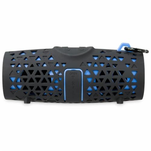 iLive Waterproof Wireless Speaker - Black/Gray Perspective: back